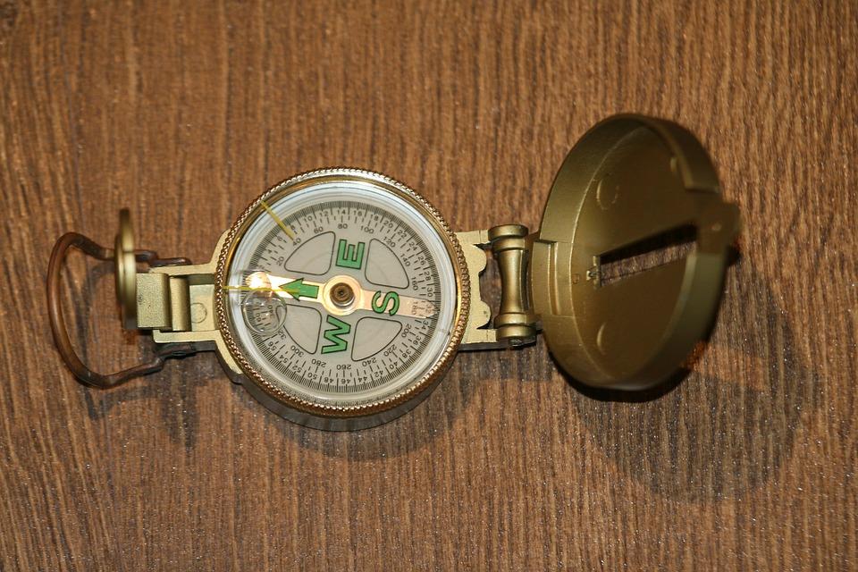 Kompas, Reizen, Onderneming, Avontuur, Rubriek
