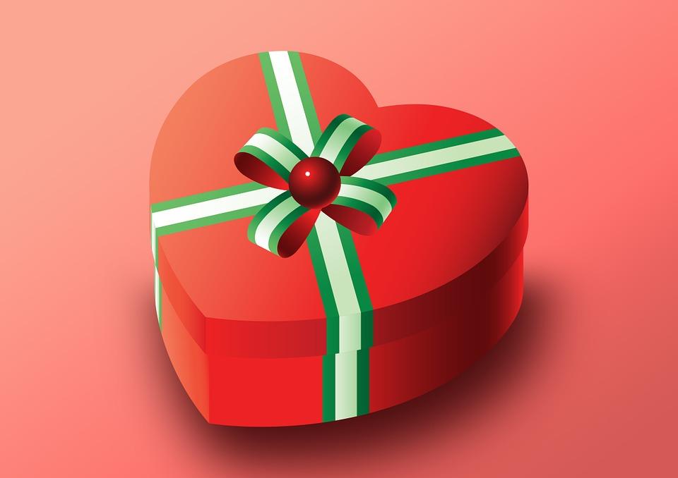 illustration gratuite emballage cadeau saint valentin. Black Bedroom Furniture Sets. Home Design Ideas