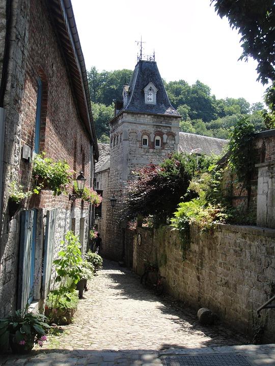 Ruelle, Durbuy, Belgique, Ardennes, Vieux, Romantique