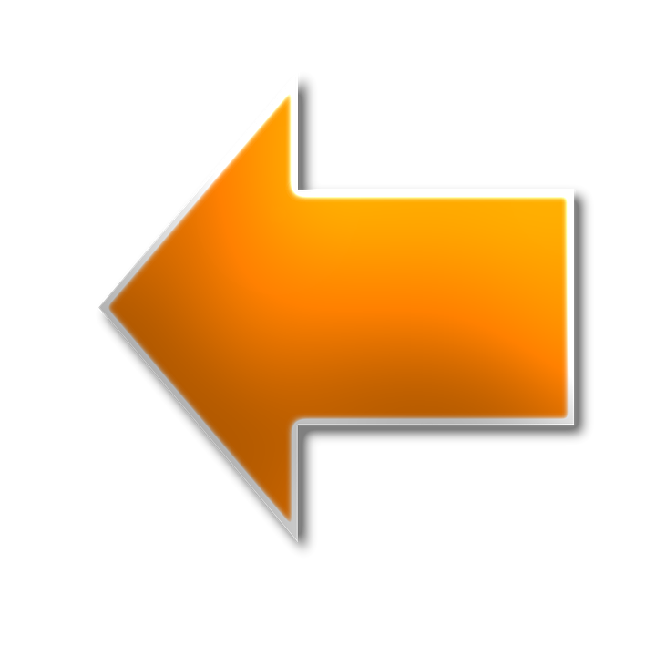 left arrow yellow 183 free image on pixabay
