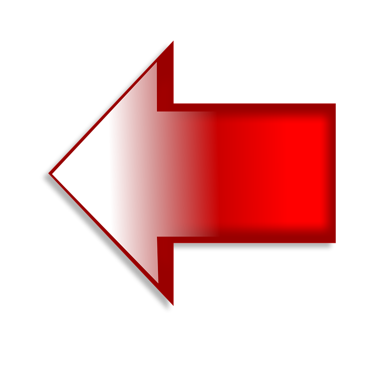 Left Arrow Red Free Image On Pixabay