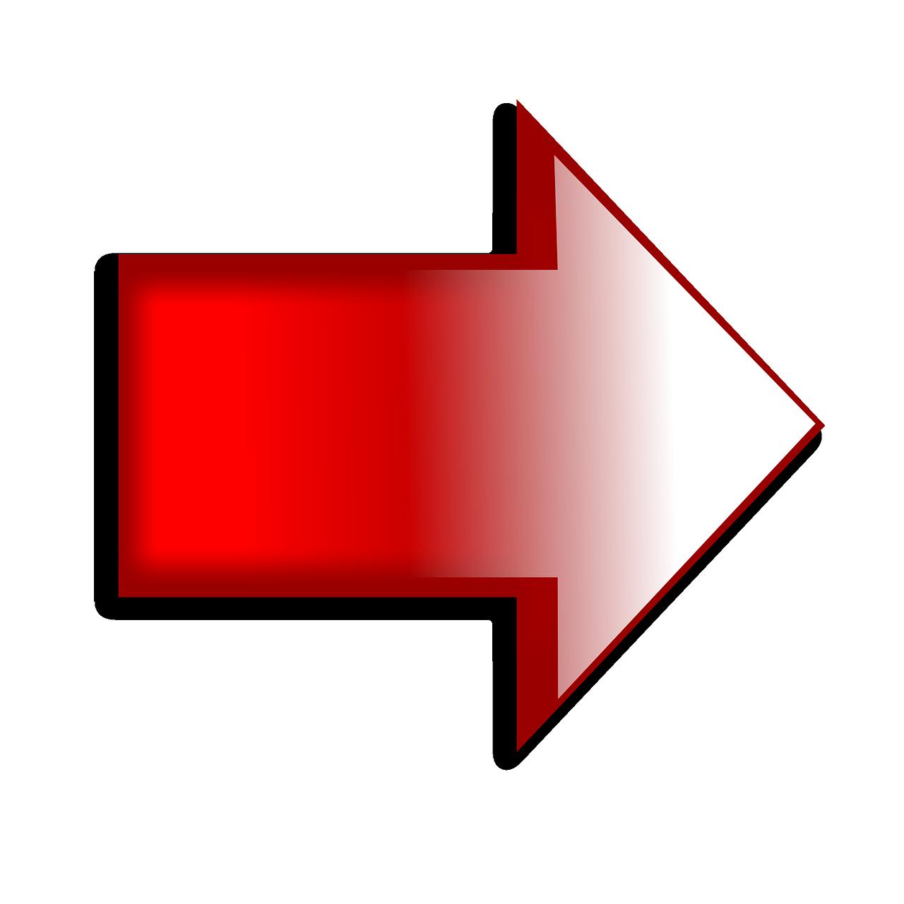 Đúng Mũi Tên Màu Đỏ Biểu - Ảnh miễn phí trên Pixabay