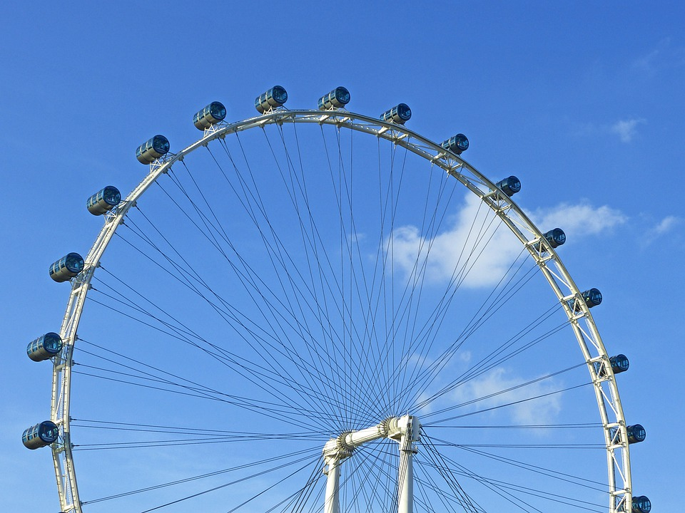 free photo  singapore flyer  ferris wheel - free image on pixabay