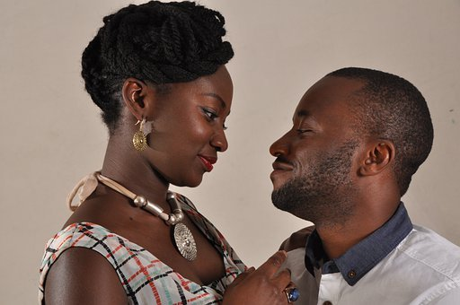 Couple, African, Love, Man, Woman