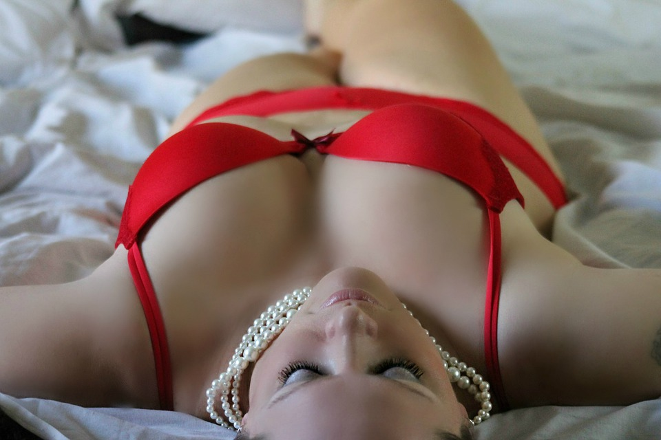 Děvče, Žena, Sexy, Spodní Prádlo, Představují