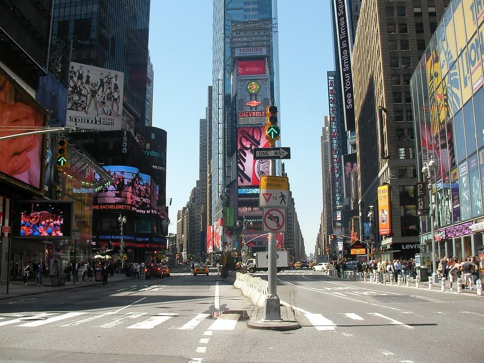 タイムズ ・ スクエア, アメリカ, ニューヨーク, Ny, ニューヨーク市, 市, 5 番街