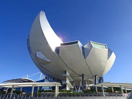 Singapore Art Science Museum Blue Sky Land