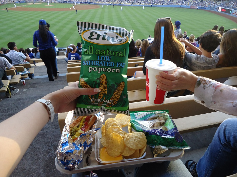 Dodger Seats With Free Food