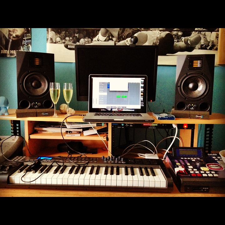 Free Photo Recording Studio Music Equipment Free
