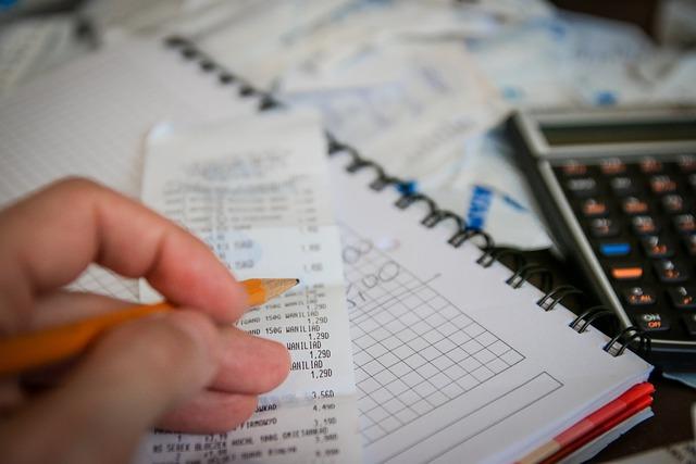 お金, 札, 電卓, 保存, 貯蓄, 税金, ビジネス