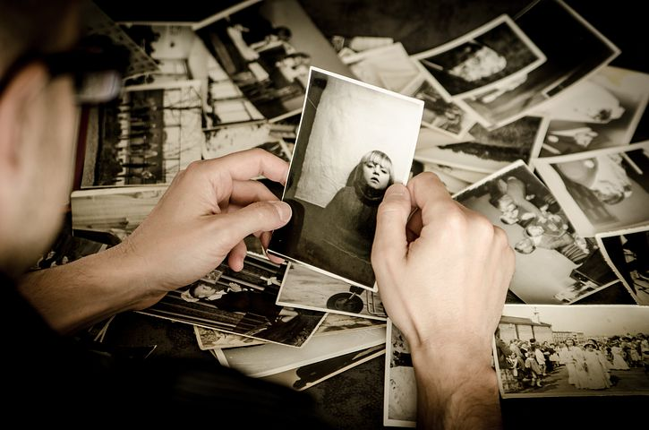 Photos, Hands, Hold, Old