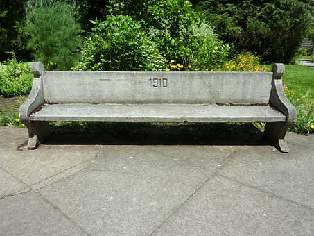 Bench, Concrete, Benches, Seat, Seating