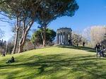 monument, madrid, park