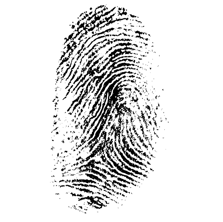 Bekannt Image vectorielle gratuite: Empreintes Digitales, Daktylogramm  UP23