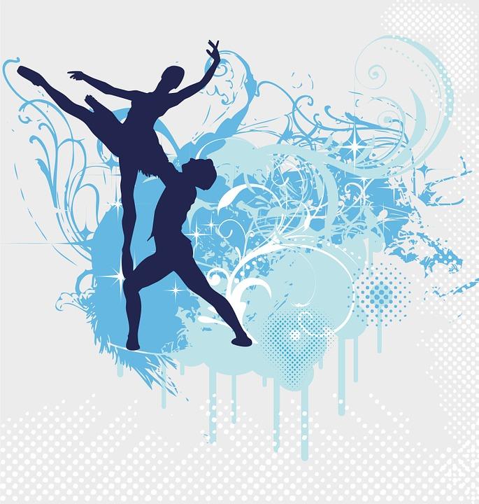 Bien connu Illustration gratuite: Ballet, Danse, Mouvement - Image gratuite  FL18