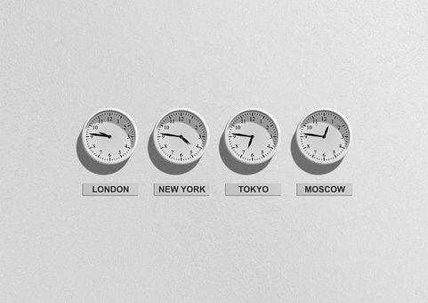 時計, 時間, アイデア, コンセプト, 時差, 時間帯, タイムピース