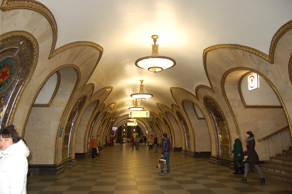 Free Photo Metro Train Station Russia Free Image On
