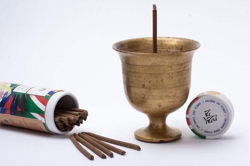 Kadzidło, Kadzidła, Puchar, Kadzidła Kielich, Mosiądz