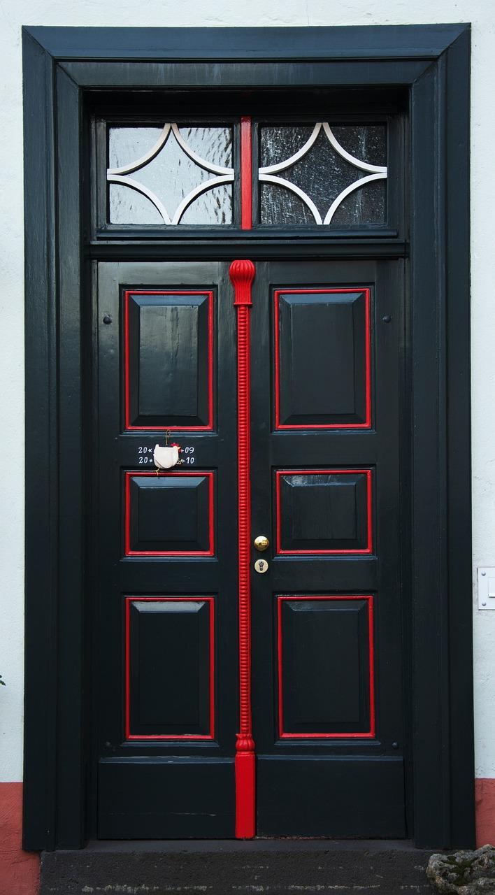 Porte D Entrée Rouge porte d'entrée bâtiment - photo gratuite sur pixabay