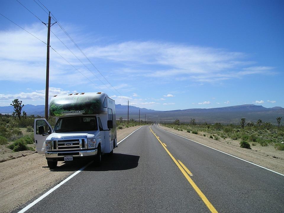 mobile travel free photo mobile home caravan road trip free image on