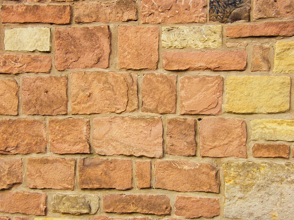 backsteinmauer backstein ziegel sandstein mauer tapete