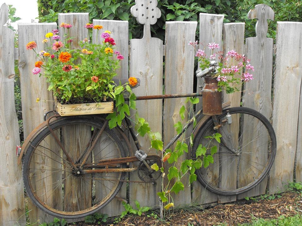 Nice Stainless Bike Garden Fence