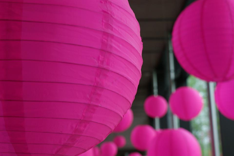 Free Photo Lantern Chinese Pink Designs Free Image On
