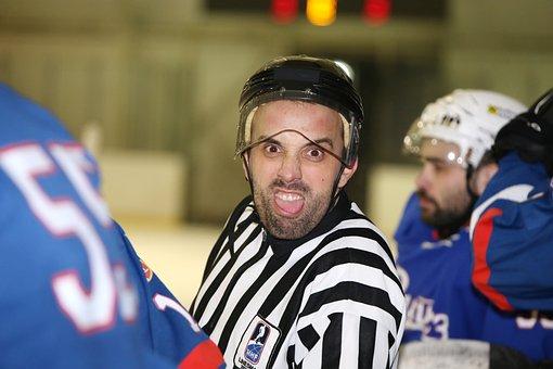 Eishockey, Schiedsrichter, Sport