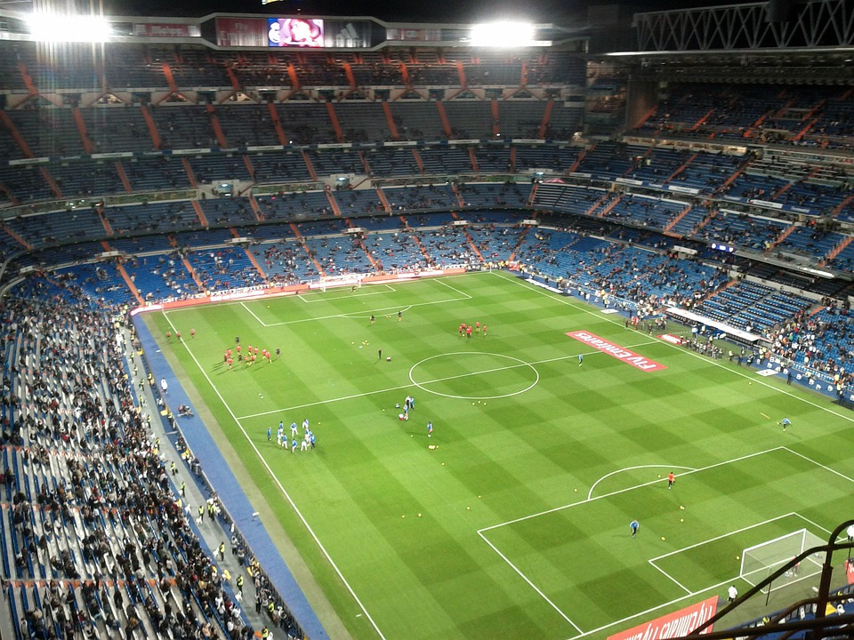 Free Photo Stadium Santiago Bernabeu Free Image On
