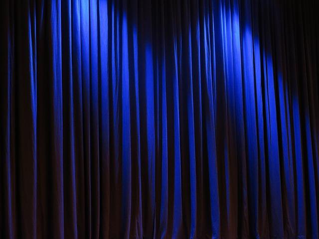 Free Photo: Curtain, Theater, Velvet