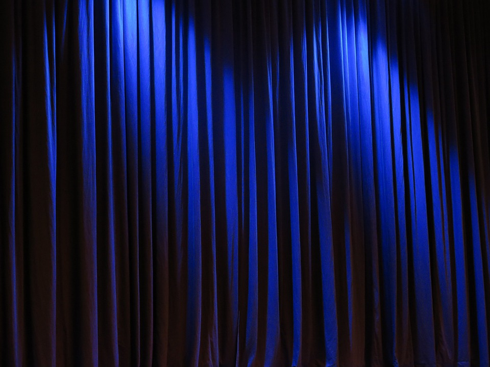 Free Photo: Curtain, Theater, Velvet