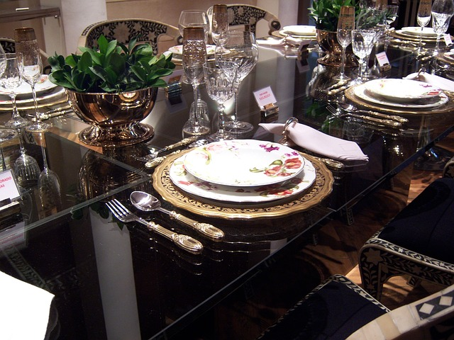 Free photo dining table dinner free image on pixabay 263847 - Dresser une table couvert ...