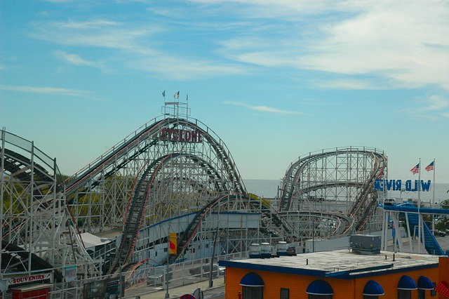 free photo roller coaster theme park free image on