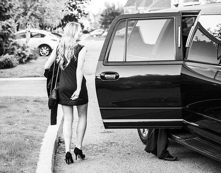 Prom, Limousine, Dresses, Party, Classic
