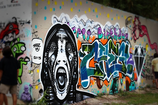 Free Photo Graffiti Street Art Spray Paint Free Image On Pixabay 264469