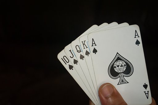 Poker Game, Poker, Cards, Clubs, Aces