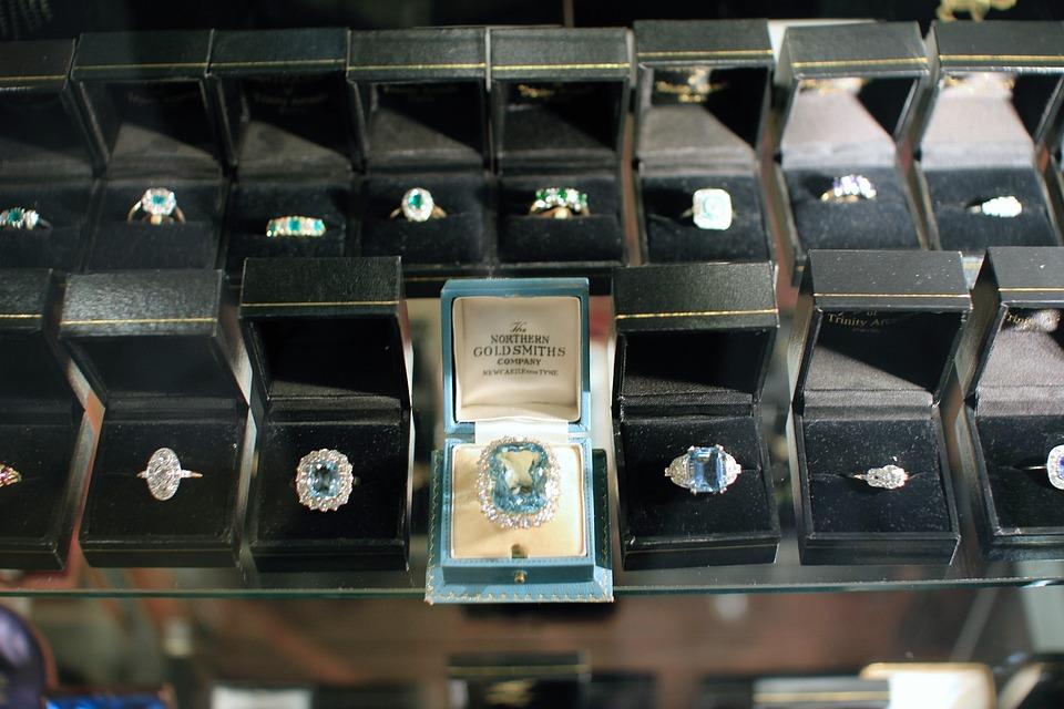Jewellery, Jewlry, Antique, Store Window, Shop Window