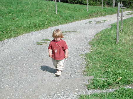 Away, Child, Human Nature, Hiking
