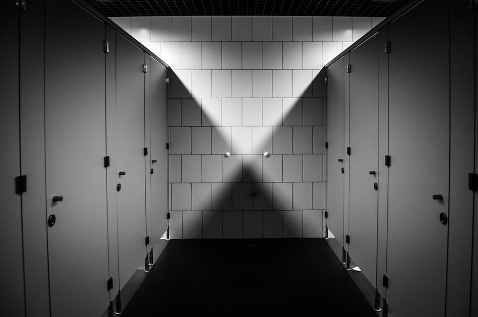 Wc, Toilet, Zuiver, Openbaar Toilet, Badkamer, Schaduw
