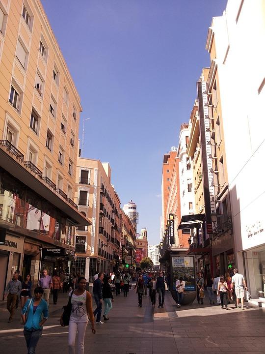 Foto gratis madrid espa a ciudad de capital imagen - Arquitectura de interiores madrid ...
