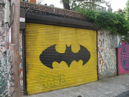 Garage Batman Door Unique Urban Design Gra