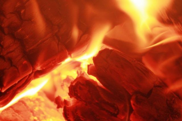 free photo fire wood fire embers heat free image on