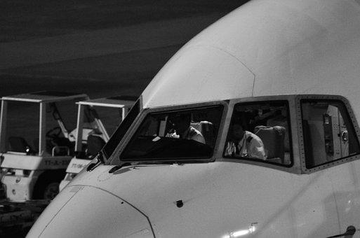 Boeing, Cockpit, Aircraft, Airplane