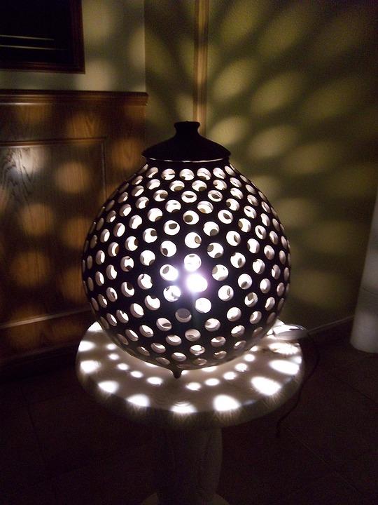 Fotografie Zdarma Keramick 225 Lampa Obraz Zdarma Na