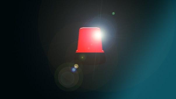 Signal Lamp, Siren, Ambulance, Police