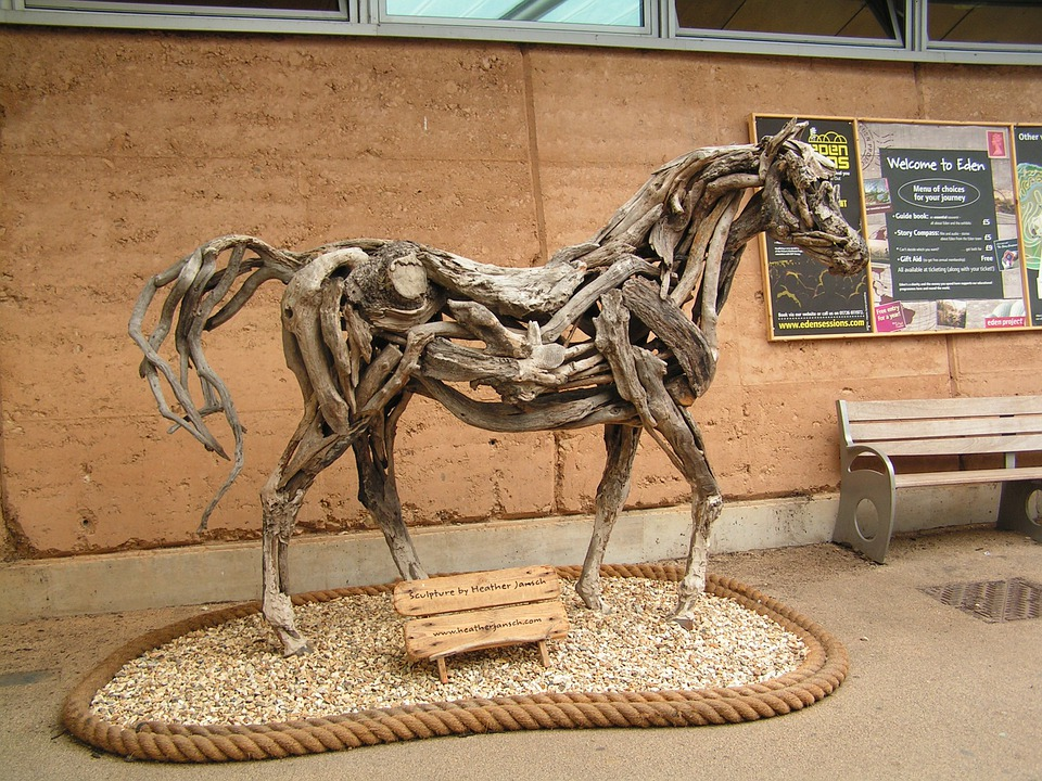 Treibholz Kunst pferd treibholz kunst · kostenloses foto auf pixabay