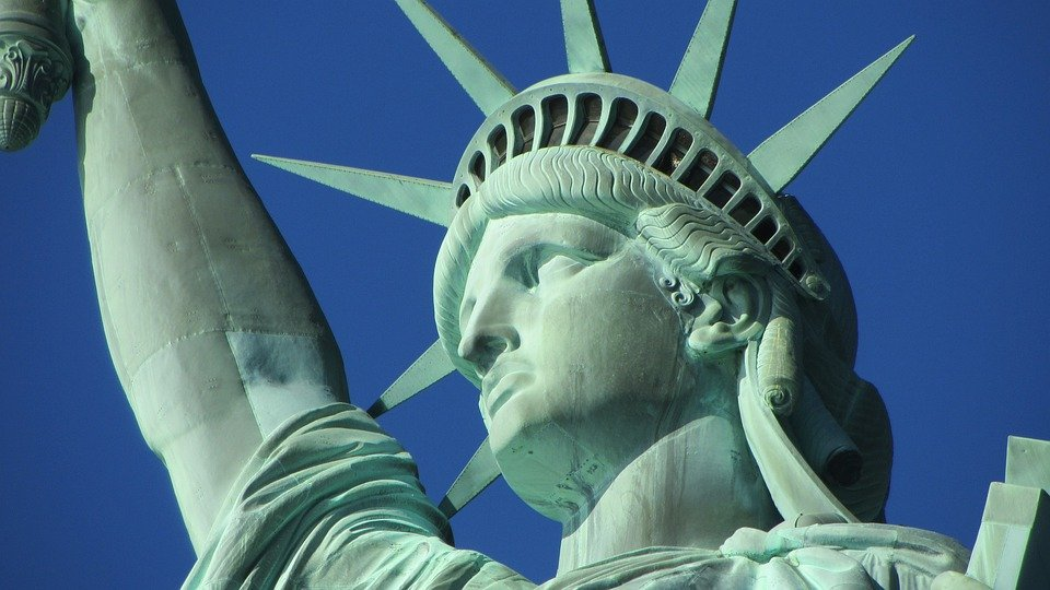Statue Of Liberty, New York, Statue, Sculpture