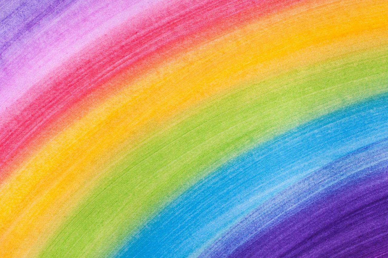 цветовая радуга картинка был