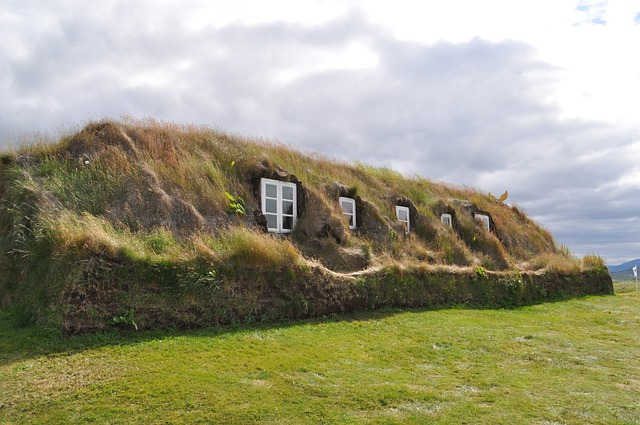 Torfhaus Grass Roof Iceland 183 Free Photo On Pixabay