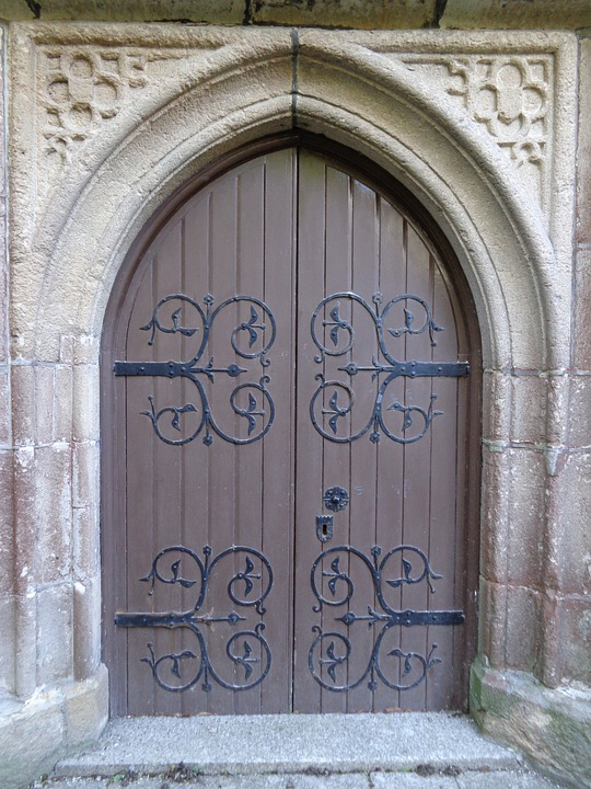 Church Door Wooden Free Photo On Pixabay